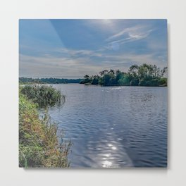 A view up the River Yare Metal Print