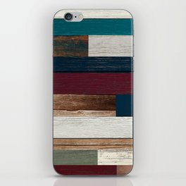 All of the Wood Planks iPhone Skin