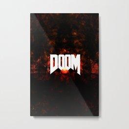 DOOM3 Metal Print
