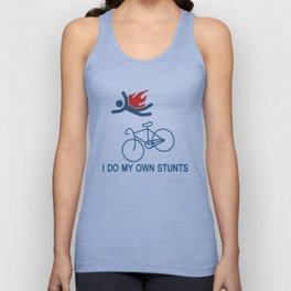 Cycling Unisex Tank Top