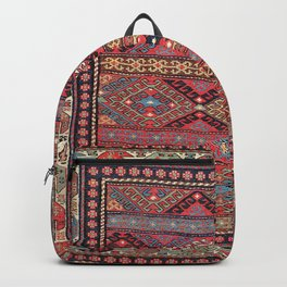 Shahsavan  Azerbaijan Northwest Persian Bag Print Backpack