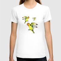 parrot T-shirts featuring Parrot by cmphotography