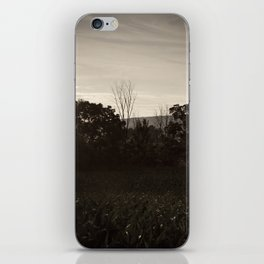 And In The Fields iPhone Skin