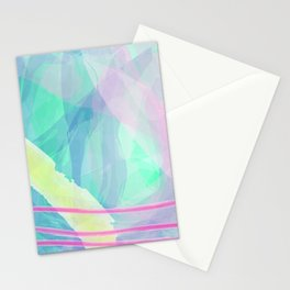 Think of summer sky Stationery Cards