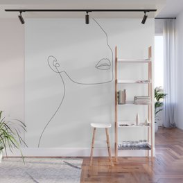 Simple Minimalist Wall Mural