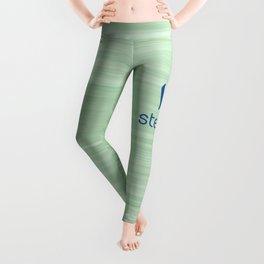 Steemit on Green Leggings