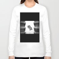 calendars Long Sleeve T-shirts featuring Calendars for Analytics by mofart photomontages