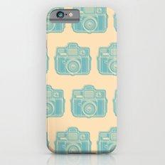 I Still Shoot Film Holga Logo - Reversed Turquoise/Tan iPhone 6s Slim Case