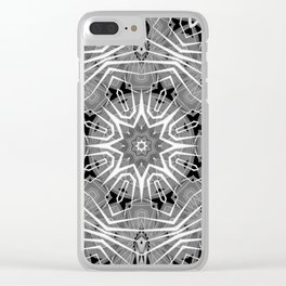 Kaleid sa 2 Clear iPhone Case