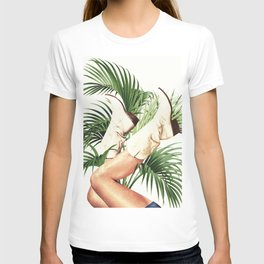 These Boots - Palm Leaves T-shirt