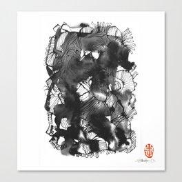 Black art Canvas Print