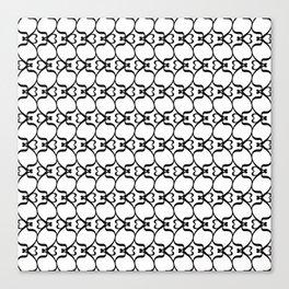 Zeta - Greek Fonts Patterns_Alphabet Canvas Print