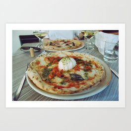 the best pizza there is Art Print