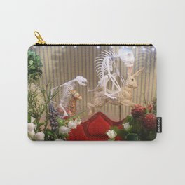 Skeletons - Blooming wonderland, dream parlour wishbone Carry-All Pouch