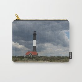 Dramatic Sky Over Fire Island Light Carry-All Pouch