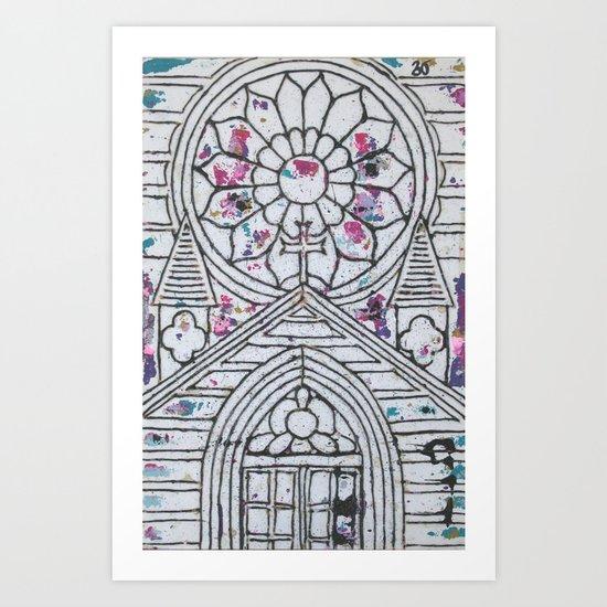 Ink Printer Art Print