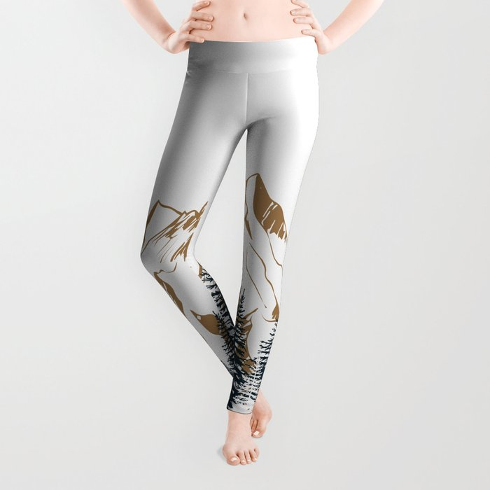 mountain # 4 Leggings