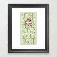 Bone Killer Framed Art Print