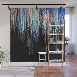 Ice Pixels Wall Mural