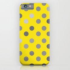 Polka Proton Yellow Slim Case iPhone 6s