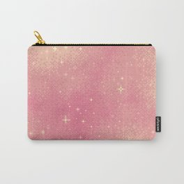 Rose Gold Galaxy Carry-All Pouch