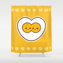 Egg Love Shower Curtain