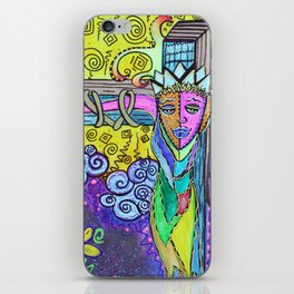 Colorful Prayers iPhone Skin