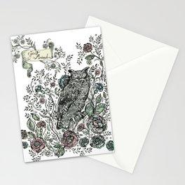 Spirit Animal: Owl. Stationery Cards