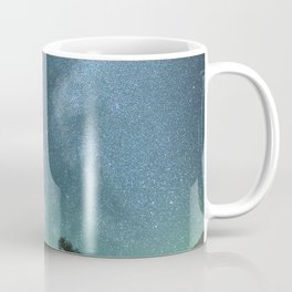 Milky Way Stars Mountain Lake Coffee Mug