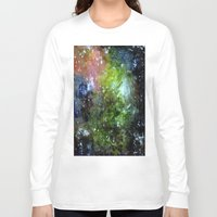 cosmic Long Sleeve T-shirts featuring cosmic by Eliza L