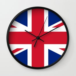 UK Flag Union Jack Wall Clock