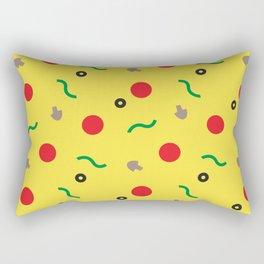 Postmodern Pizza Slice Rectangular Pillow