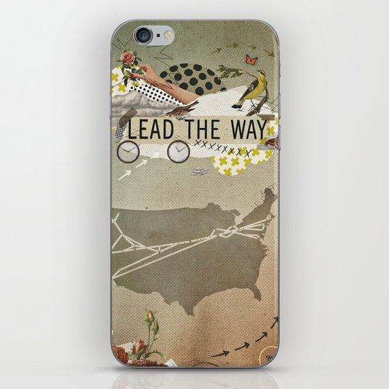 lead the way iPhone & iPod Skin