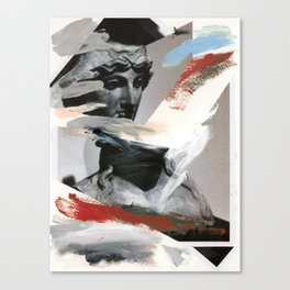 Untitled (Painted Composition 4) Canvas Print