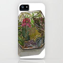 D20 Terrarium iPhone Case