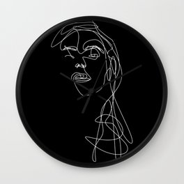 Modern Picasso by Sher Rhie 1 Wall Clock