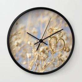 Heart Ring Wall Clock