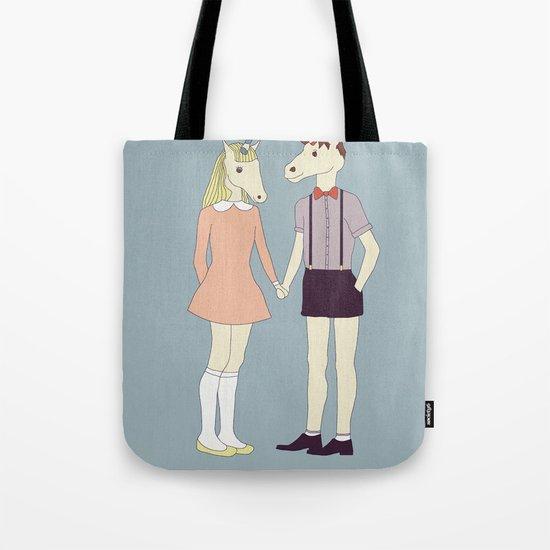 Our love is unique, we are Unicorns Tote Bag