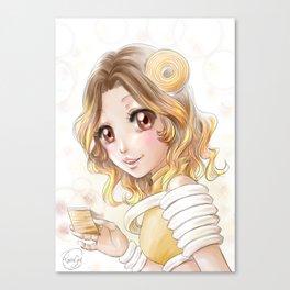 Baumkuchen Canvas Print