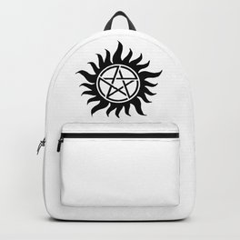 Anti Possession Sigil Black Backpack