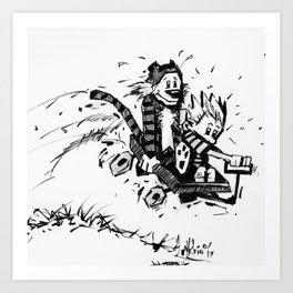 """ENJOY THE RIDE!"" Art Print"