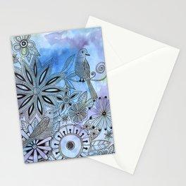 Bird Design Stationery Cards
