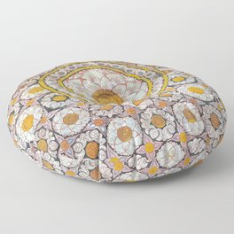 Lotus Wall Floor Pillow