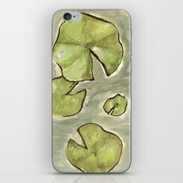 Nymphaea iPhone Skin