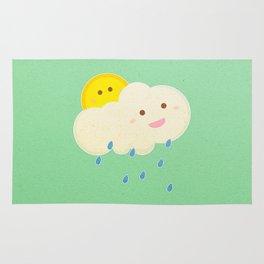 Raining day Rug