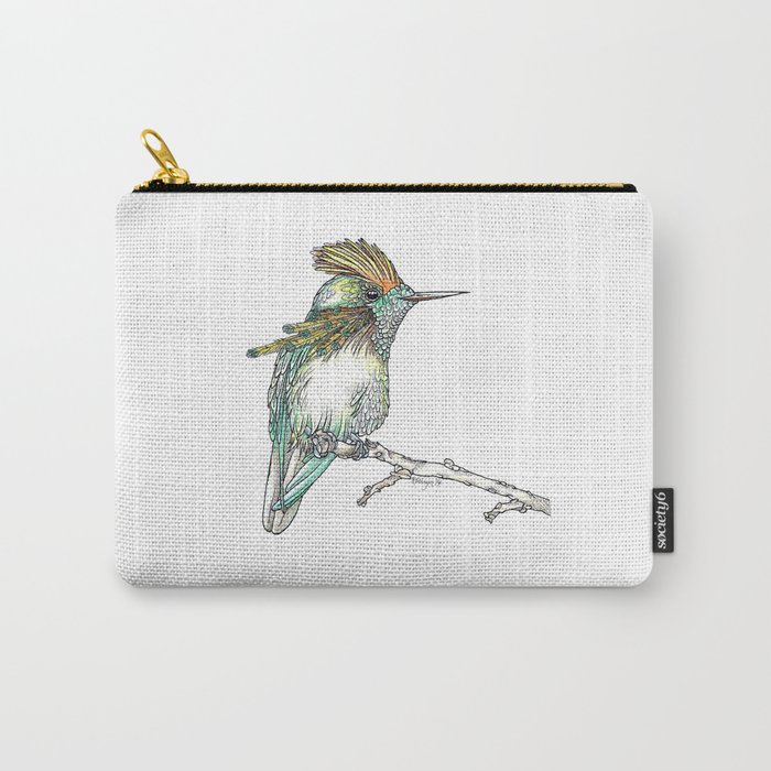 The Tufted Coquette Carry-All Pouch