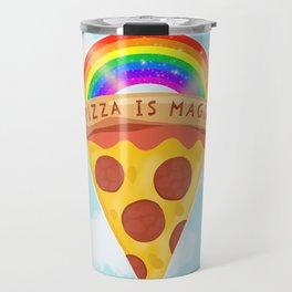 Pizza Is Magic Travel Mug