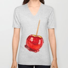 Candy Apple Unisex V-Neck