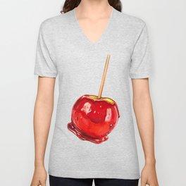 Candy Apple Unisex V-Neck