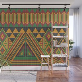 Indian Bead Work B Wall Mural